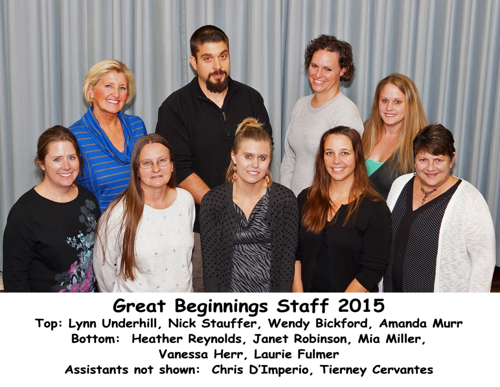 GBP Staff 2015