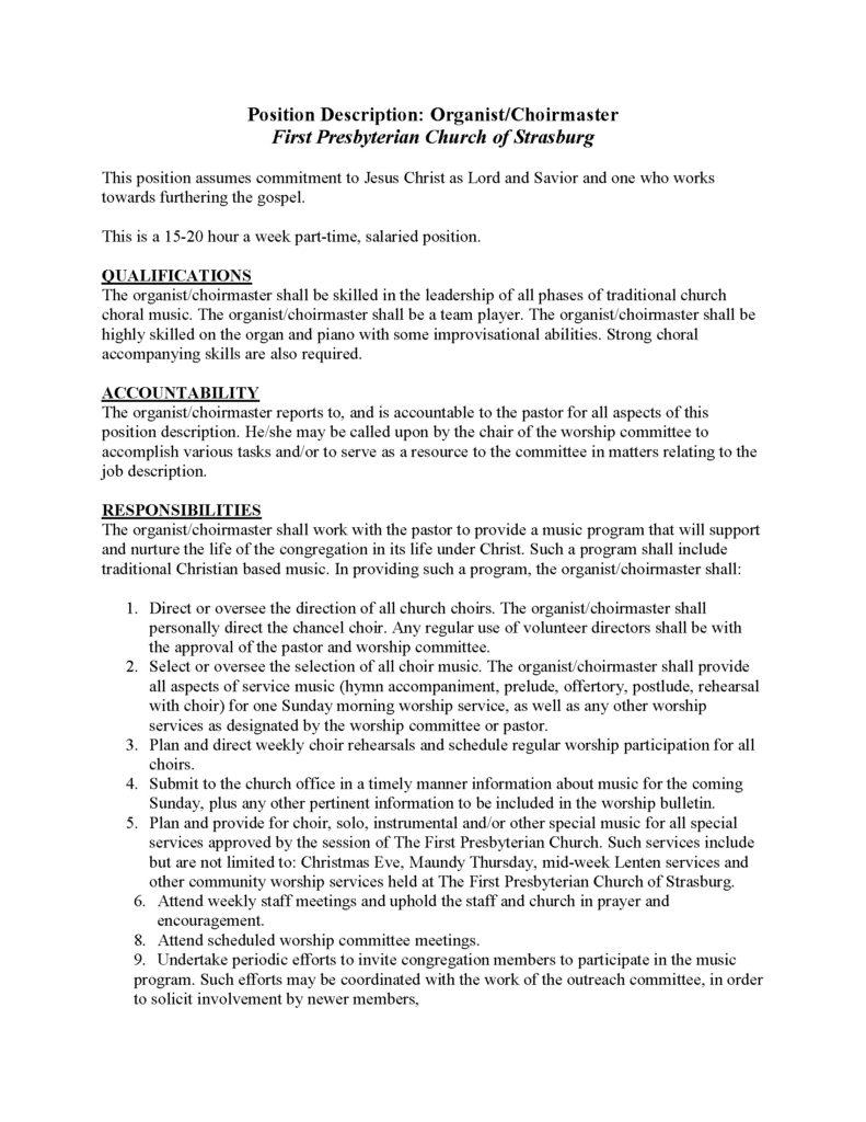 POSITION DESCRIPTION organist-choirmaster_Page_1